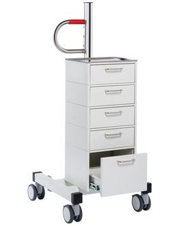 STACK Bottle Cart with storage for clinic, & care - mth medical