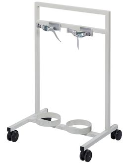 PROFI DUO Bottle Cart for clinics & care facilities - mth medical