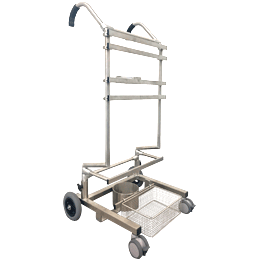 NEW: Hand Truck for mobile anesthetists